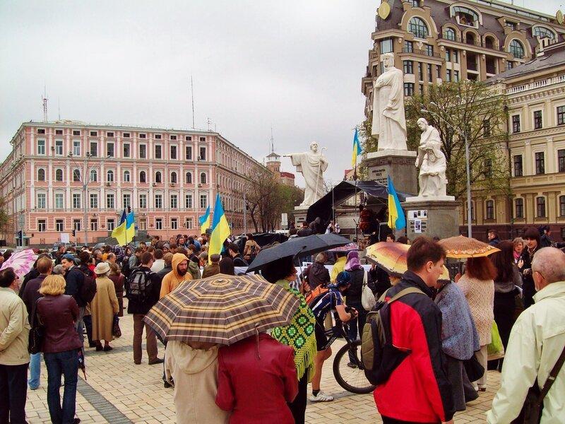 митинг в защиту Андреевского спуска