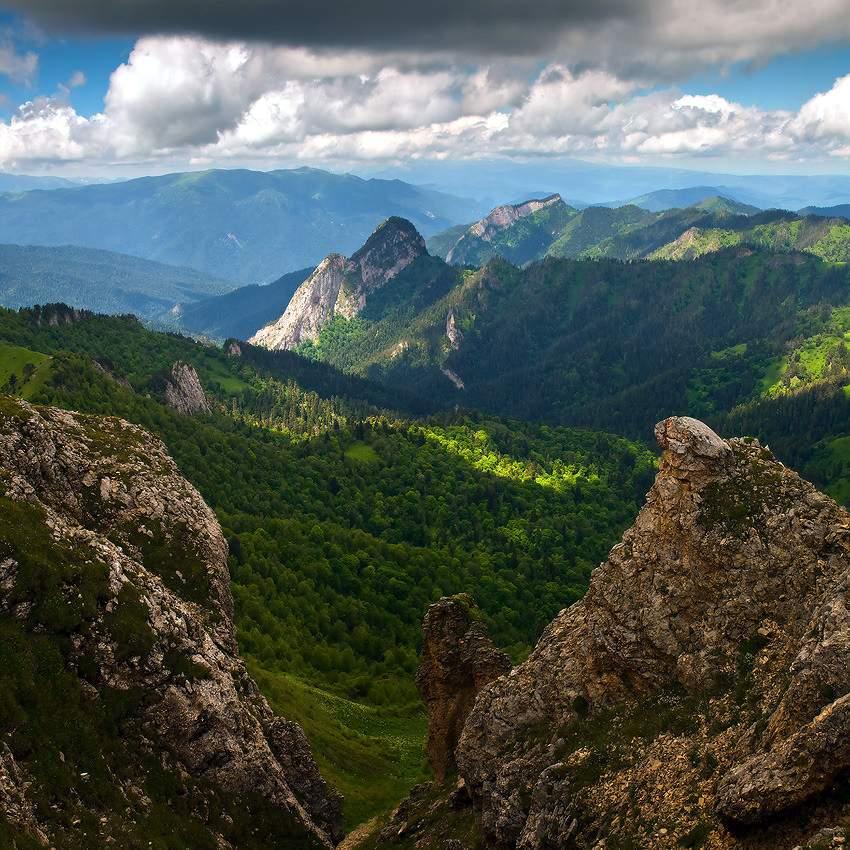 Горы, хребты и перевалы Адыгеи