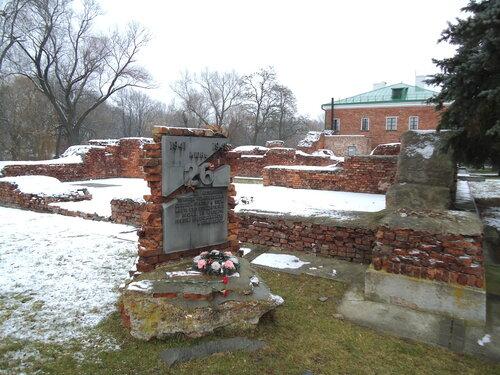 Брестская крепость. Место прорыва 26 июня