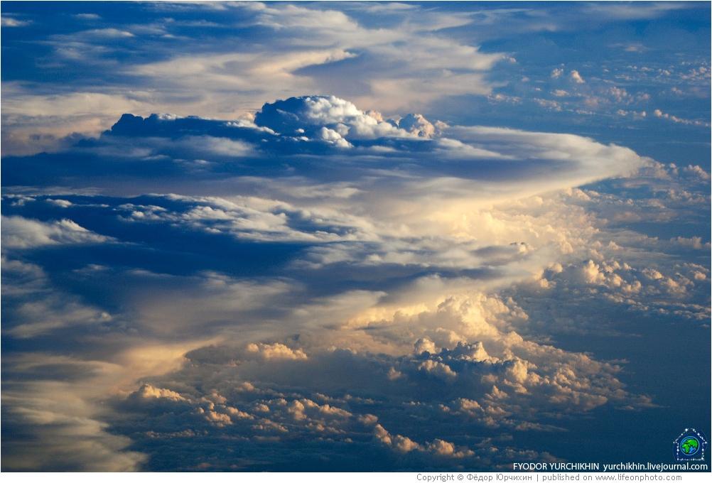 Облака с изнанки. Фотографии Фёдора Юрчихина