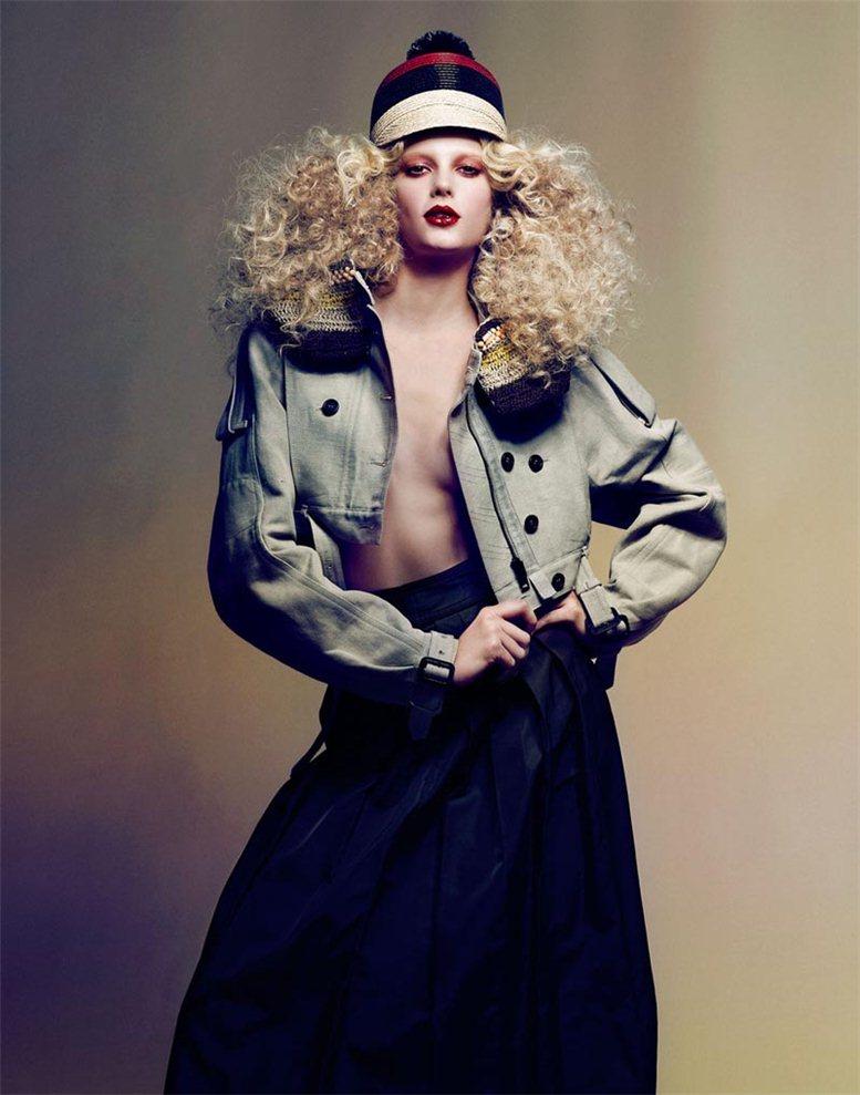 модель Сигрид Агрен / Sigrid Agren, фотограф Dusan Reljin