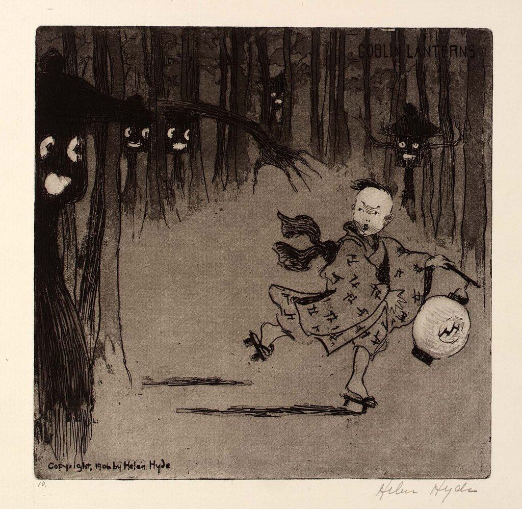 Goblin Lanterns 1906 Helen Hyde