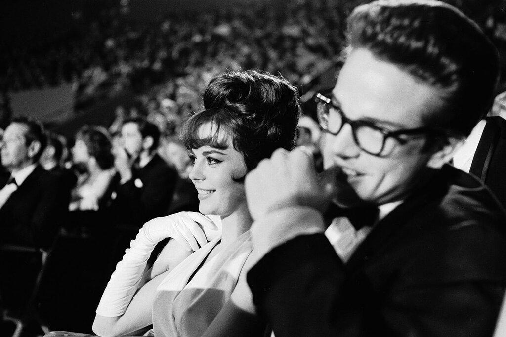 Натали Вуд и Уоррен Битти 1962