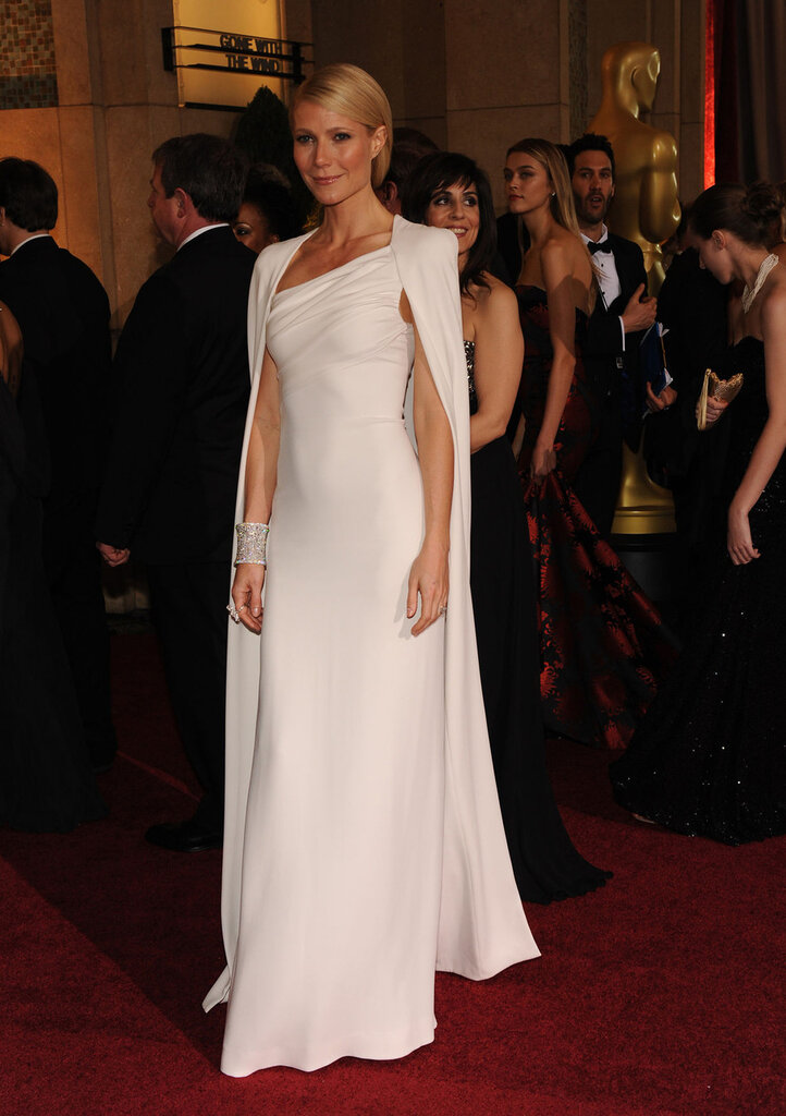 Actress Gwyneth Paltrow arrives for the 84th Academy Awards in Los Angeles
