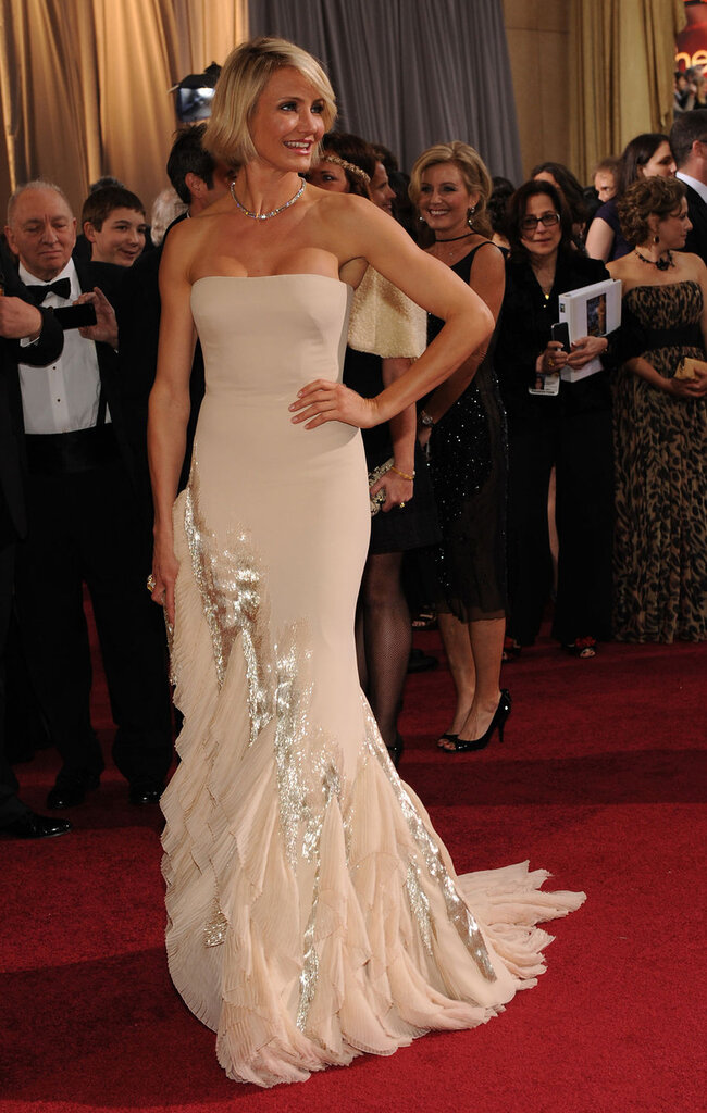 Actress  Cameron Diaz arrives for the 84th Academy Awards in Los Angeles