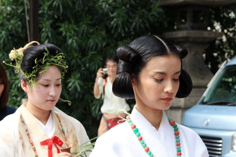 Краткая история японских женских причесок Заходите гостем будете