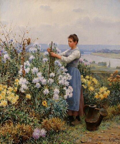 живопись цветов