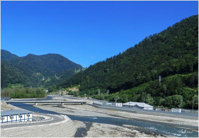 Река Мзымта.