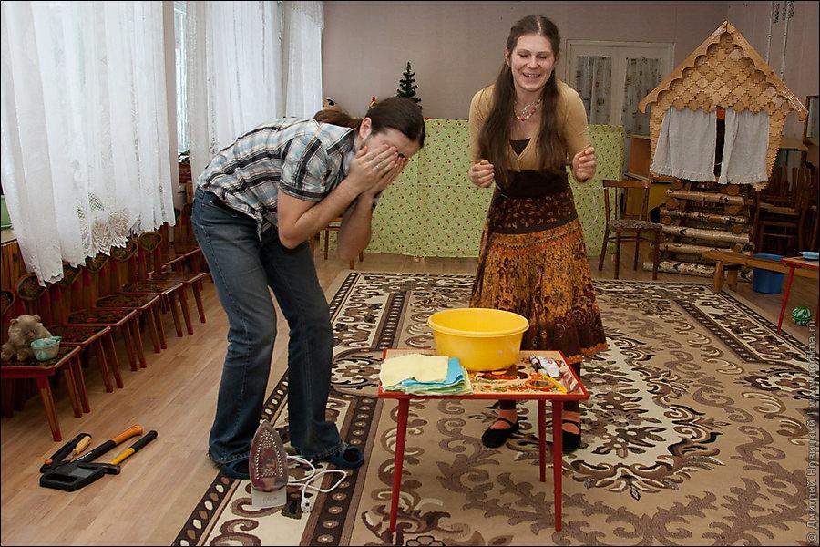 Сказка про Ивана и Марью