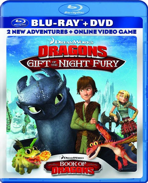 ��� ��������� �������: ��� ������ ����� / Dragons: Gift of the Night Fury (2011/BDRip/720p/HDRip)