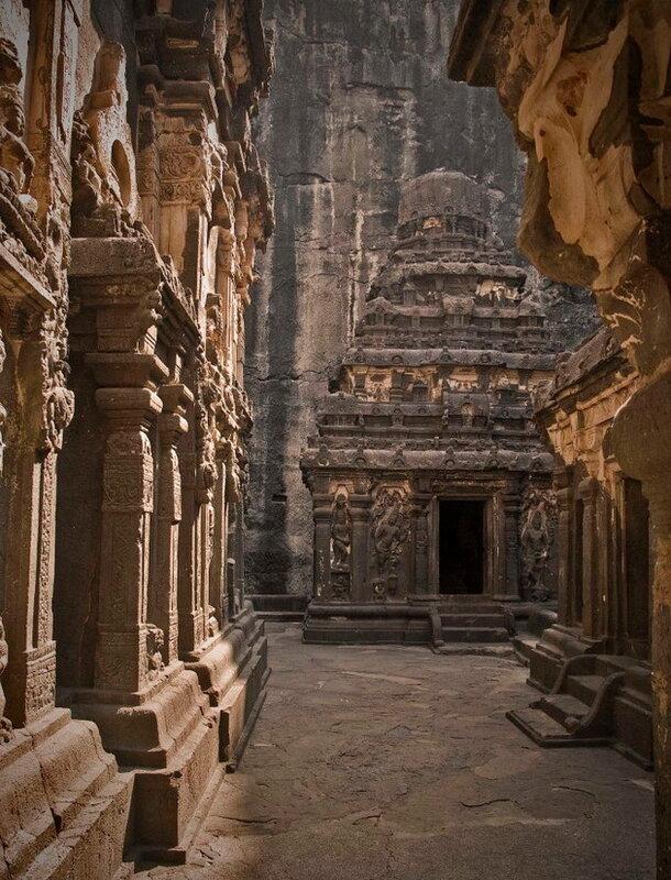 Пещеры Эллоры. Индия