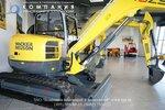На заводе в Австрии - Миниэкскаваторы WACKER NEUSON