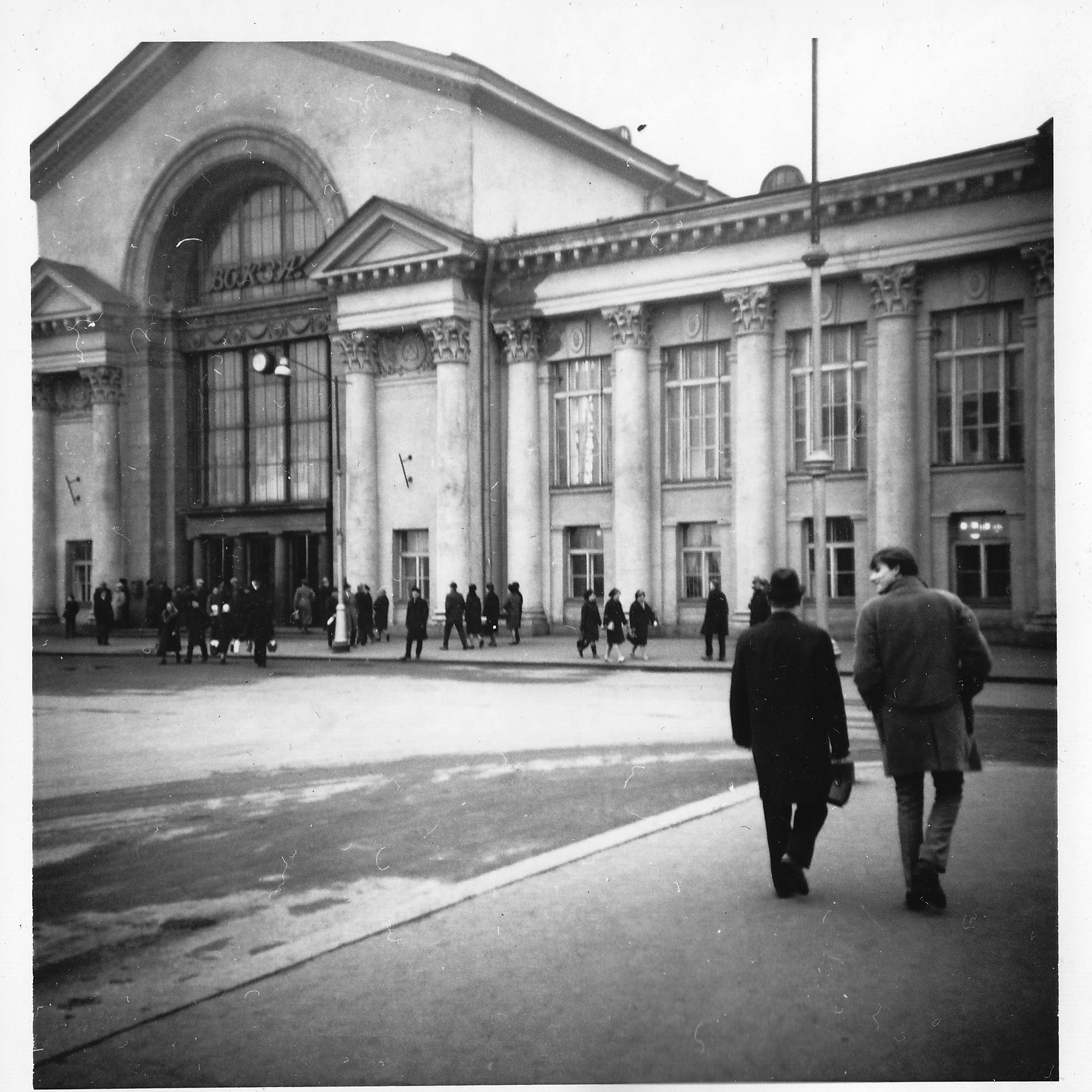 Выборг. Станция