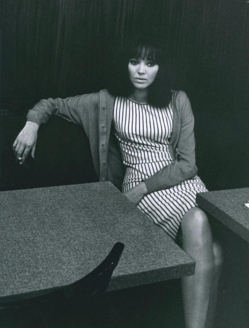 1960. Анна Карина