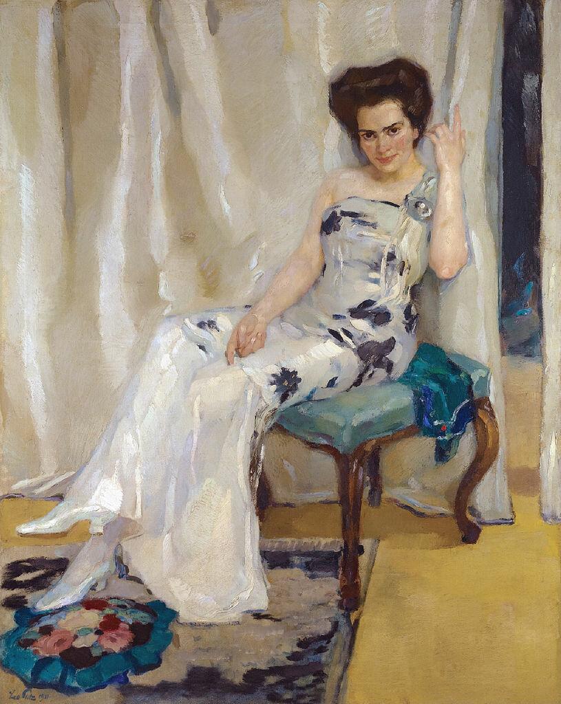 Cara Sophia Köhler, в девичестве Goldammer 1911, Путц, Лео (1869 - 1940)