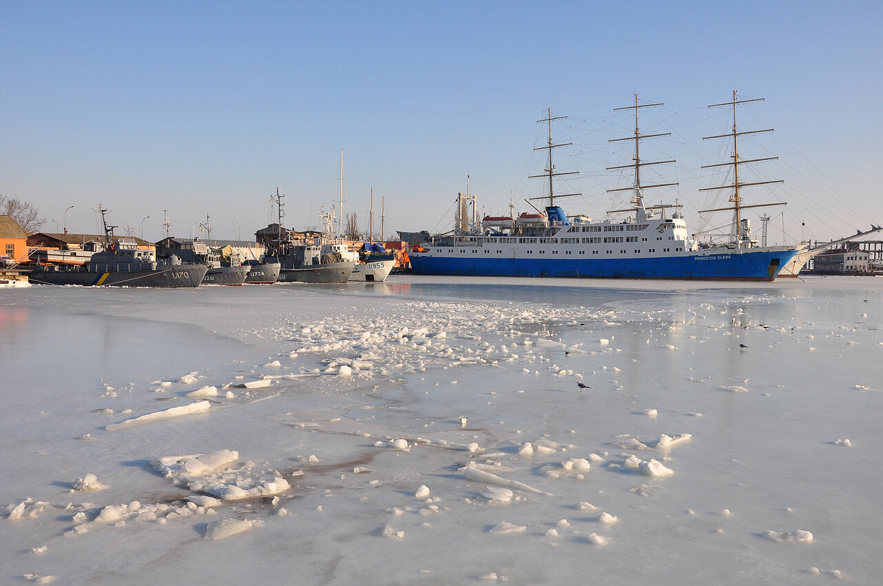 В ледовом плену