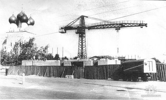 Строительство кинотеатра Начало 70х Кинотеатр открылся в 1972 году