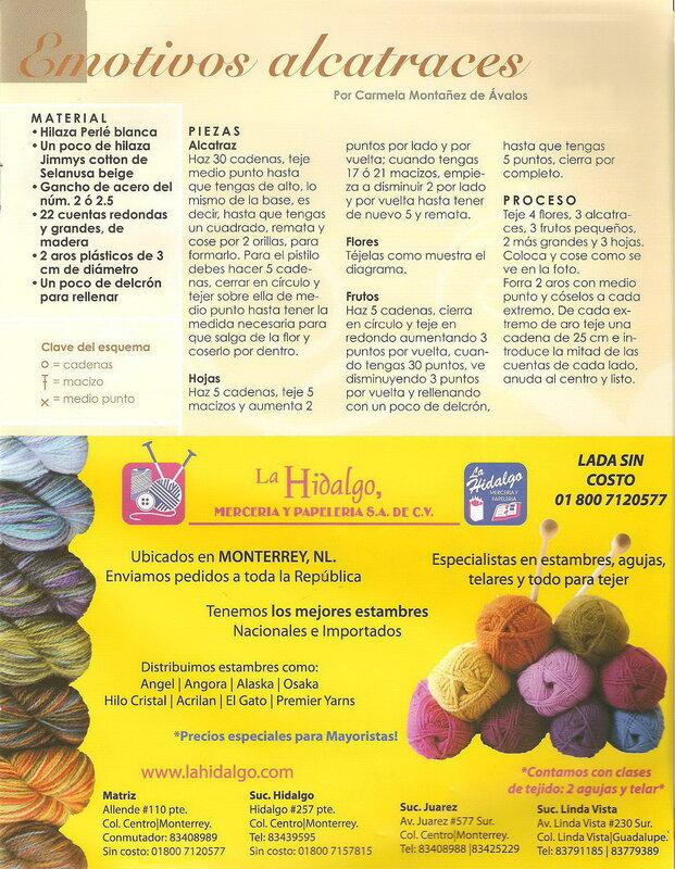 Nuestras tecnicas de Crochet - №33 - 2011