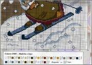 Схемы вышивок сказочных героев: Бабок Ежек, колдуний и гномиков.  Еще схемы вышивки сказочных существ.