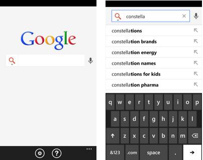 поиск google