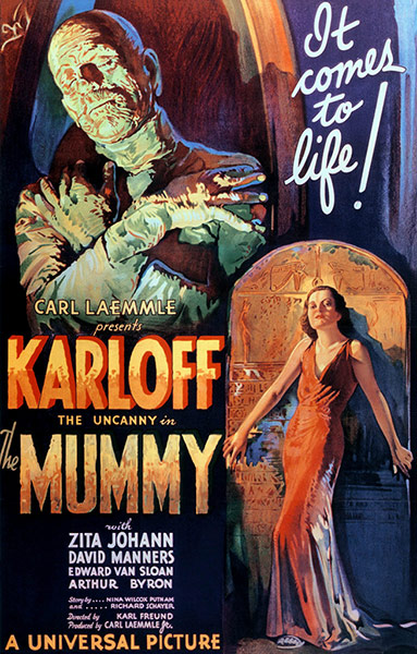 Top Selling Film Posters - The Mummy, 1932