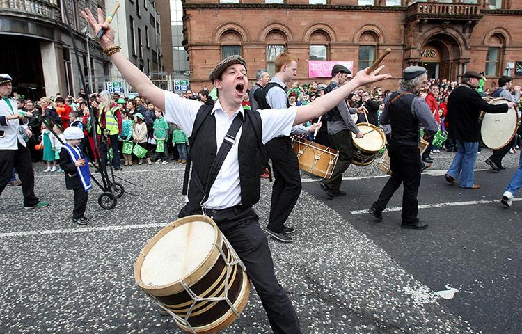 St Patrick's Day in Belfast