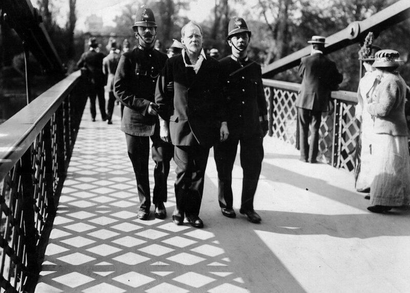 Suffragist Arrested