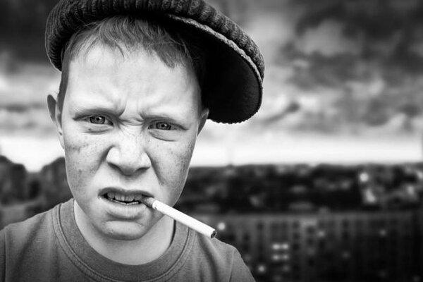 фото курящих пацанов