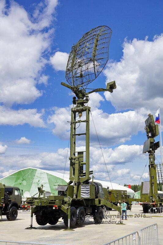 "РЛС ""Каста-2Е2"", Форум Армия-2015, парк Патриот"