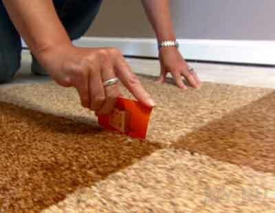 Применение ковровой плитки в интерьере квартиры