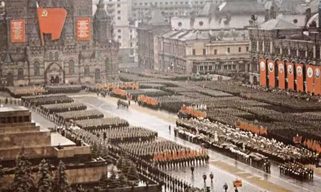 Парад Победы 1945 год Москва