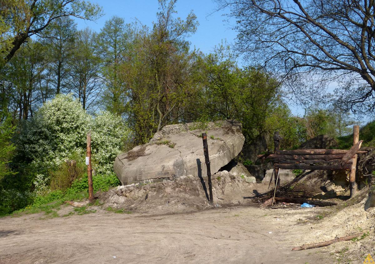 Исследование ДОТов Киевского укрепрайона