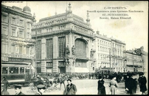 елисеевский магазин, санкт-петербург