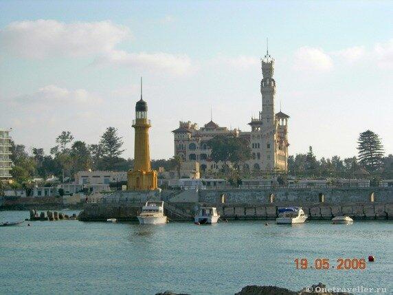Египет. Александрия. Вид на летнюю резиденцию президента Египта.