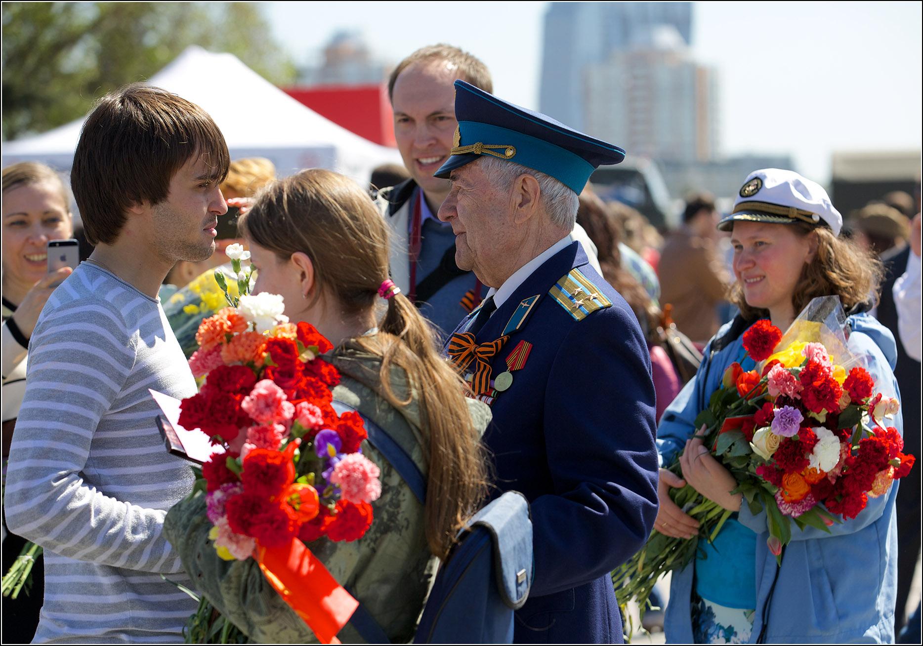 День победы 2014, Репортажная фотосъемка
