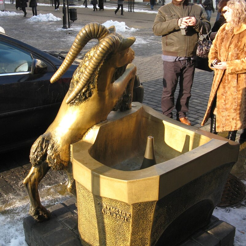 Lublin's Goat monument