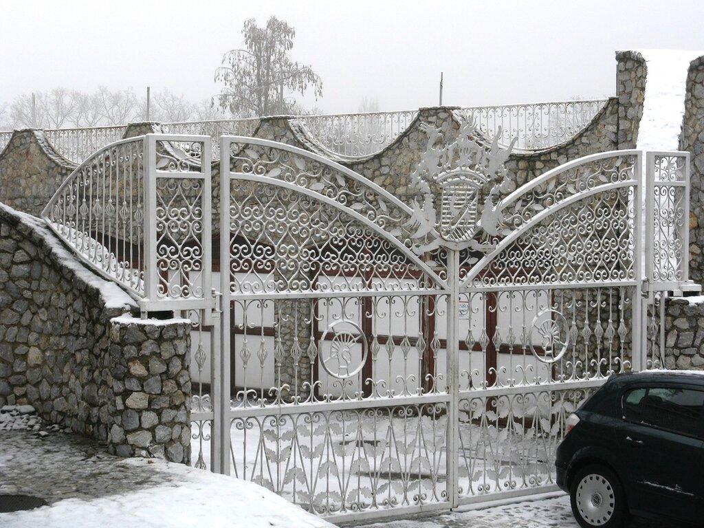 Miskolc after a snowfall