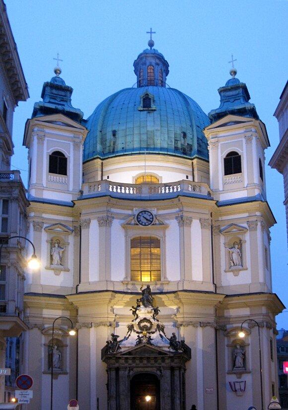 St. Peter's сhurch (Katholische Kirche St. Peter, Peterskirche), Vienna