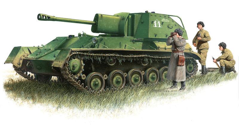 35030_Soviet Light Tank T-70_