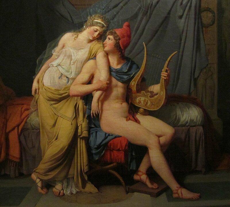 Давид. Елена и Парис