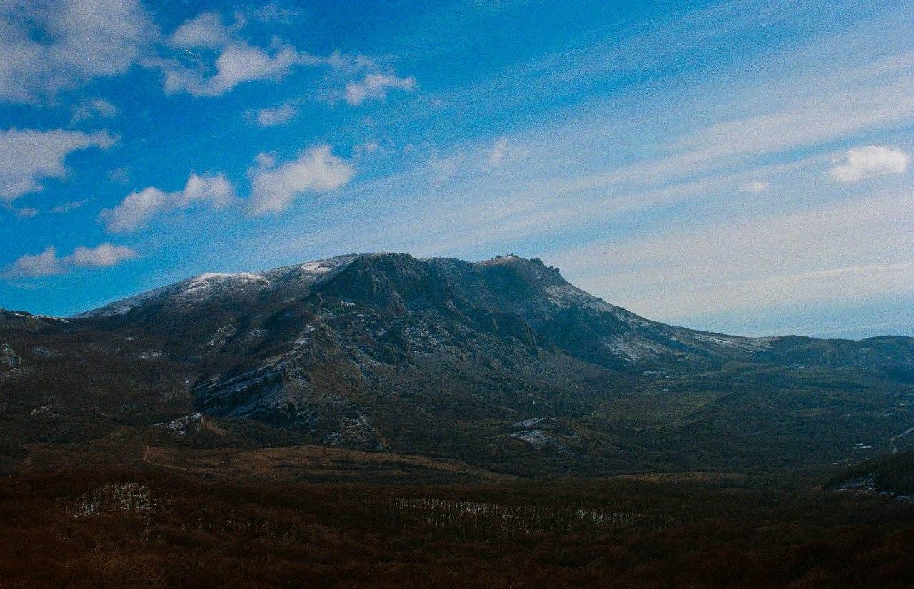 гора крымский пейзаж