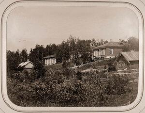 Вид дома начальника отделения и канцелярии у Рязанского шлюза.