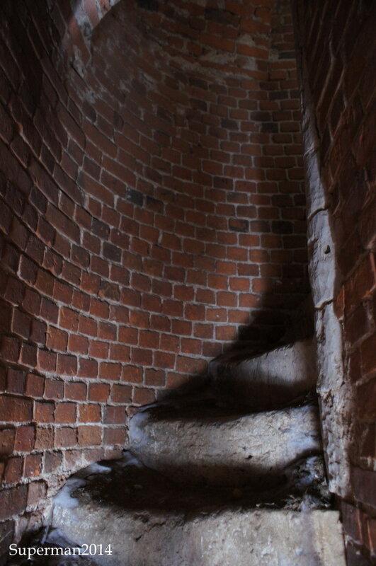 г.Венёв - лестница на колокольню Николаевской церкви