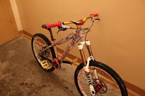 Оклейка велосипеда своими руками 14