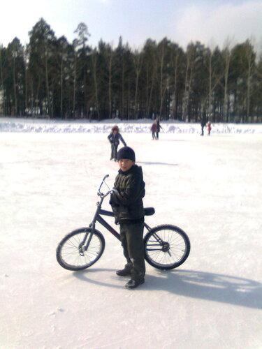 Ice-biker