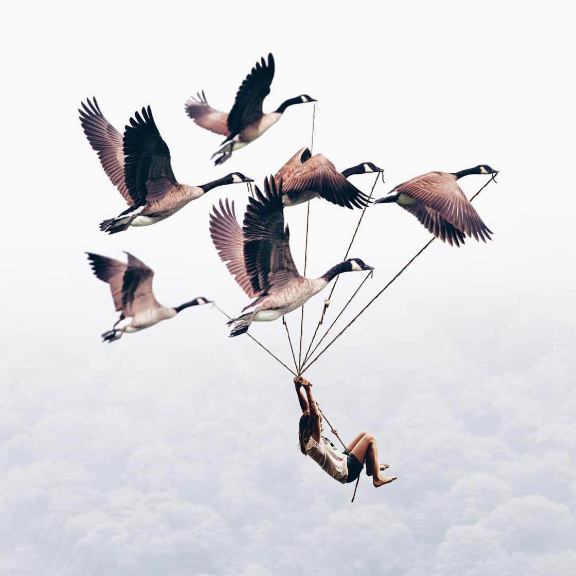 Marvelous and Poetic Photomontages by Luisa Azevedo