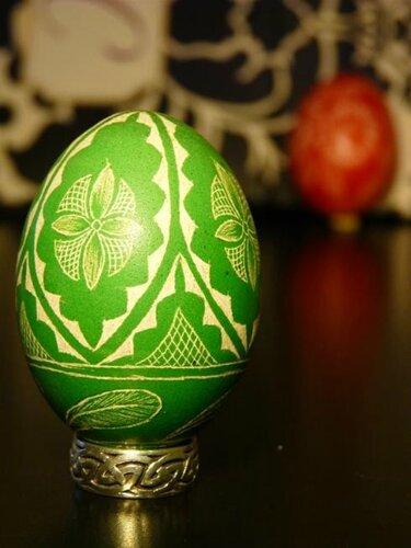 Дряпанки. Пасхальные яйца