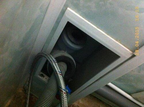 Подключится в канализацию есть где