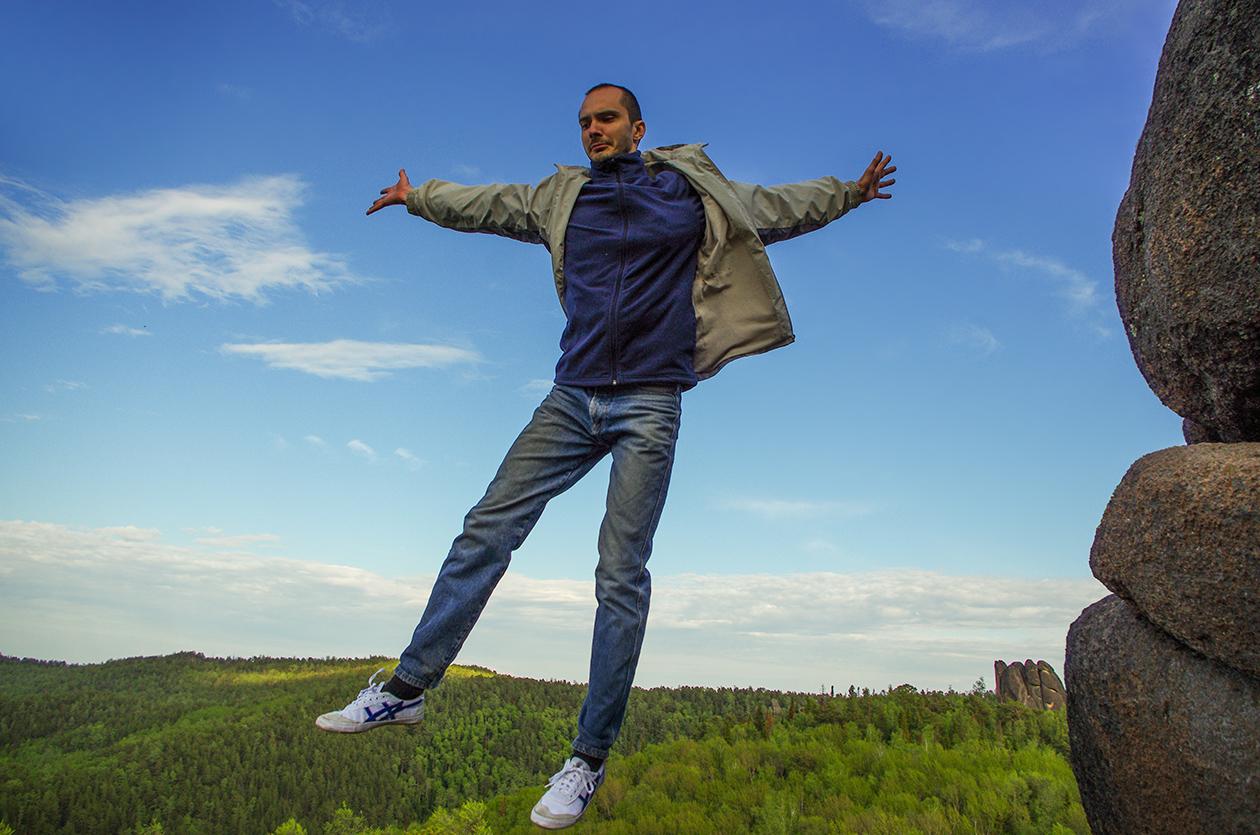 Завершение прыжка