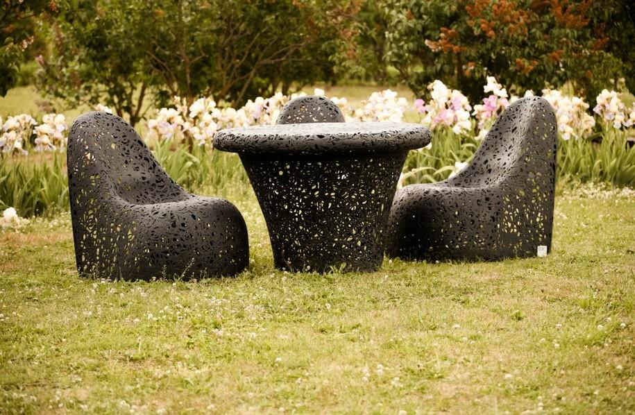 Коллекция мебели из базальтового волокна от Раймонда Цирулиса